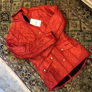 Barbour quiltedCalvary Jacket sz 4 American 8 euro